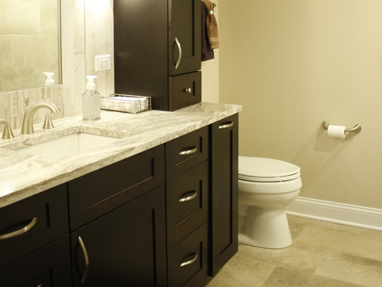 Contemporary Glam Master Bathroom