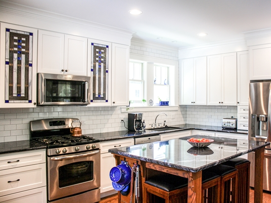 Detailed Family Kitchen with Flair