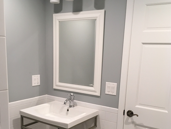 Bright Accessible Bathroom & Shower Remodel