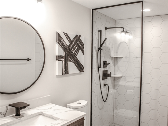 Modern Basement Bathroom